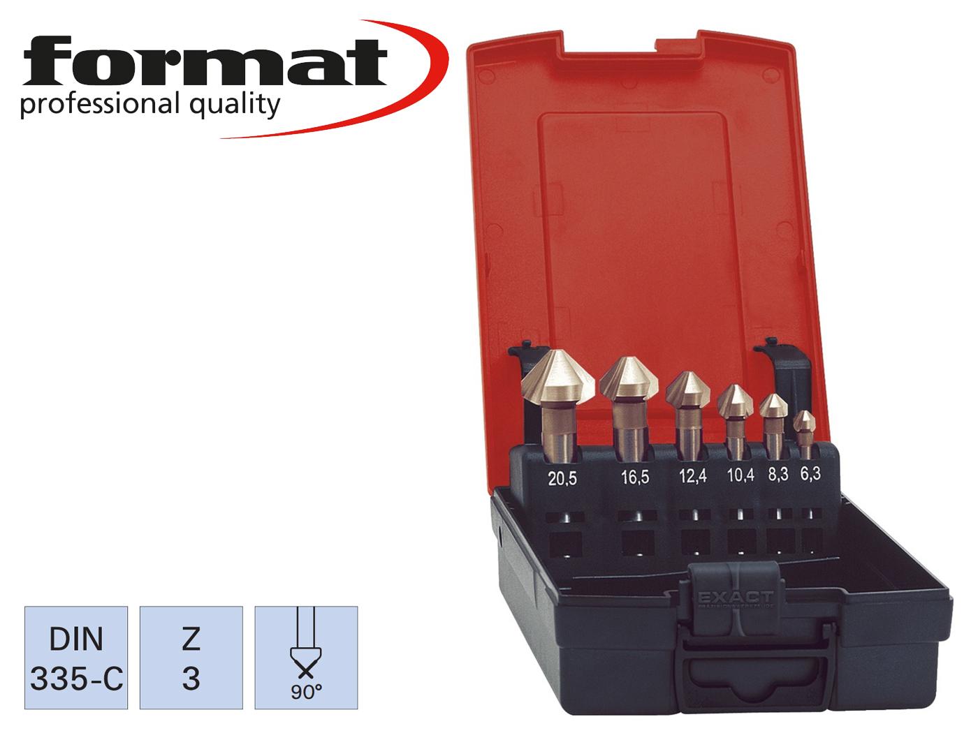 verzinkborenset DIN 335 C HSSECo5 90 G FORMAT   DKMTools - DKM Tools