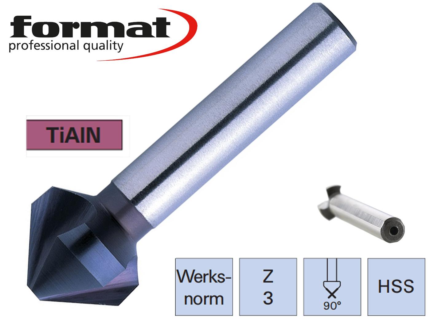 verzinkboor DIN 335C HSS TiALN ADVANCED Exact   DKMTools - DKM Tools