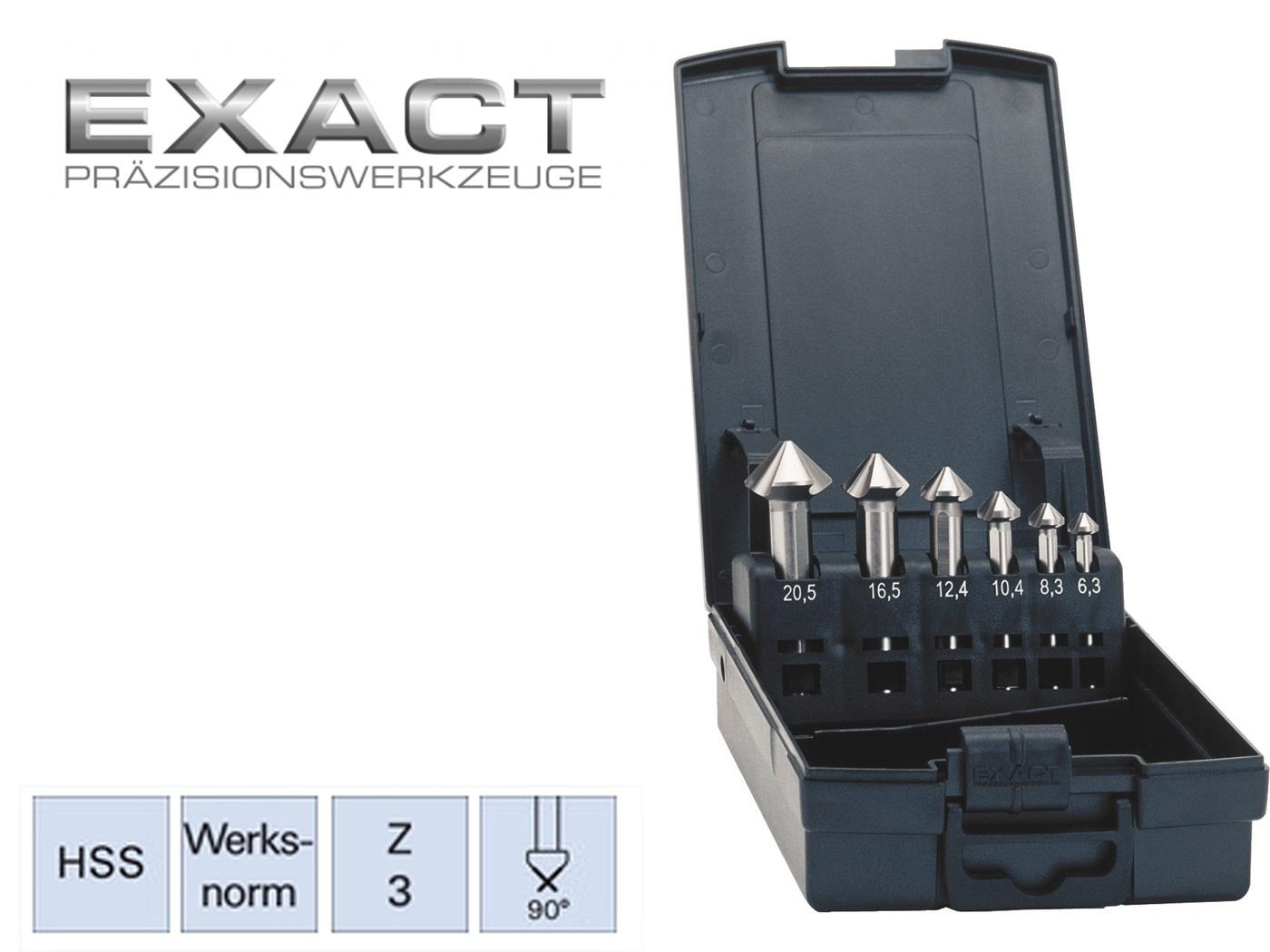 verzinkboor set DIN 335C HSS ADVANCED exact   DKMTools - DKM Tools