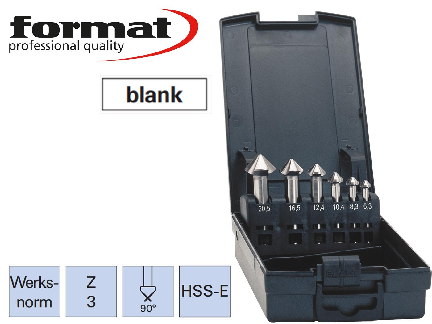 verzinkboor set DIN 335C HSS E ADVANCED exact   DKMTools - DKM Tools