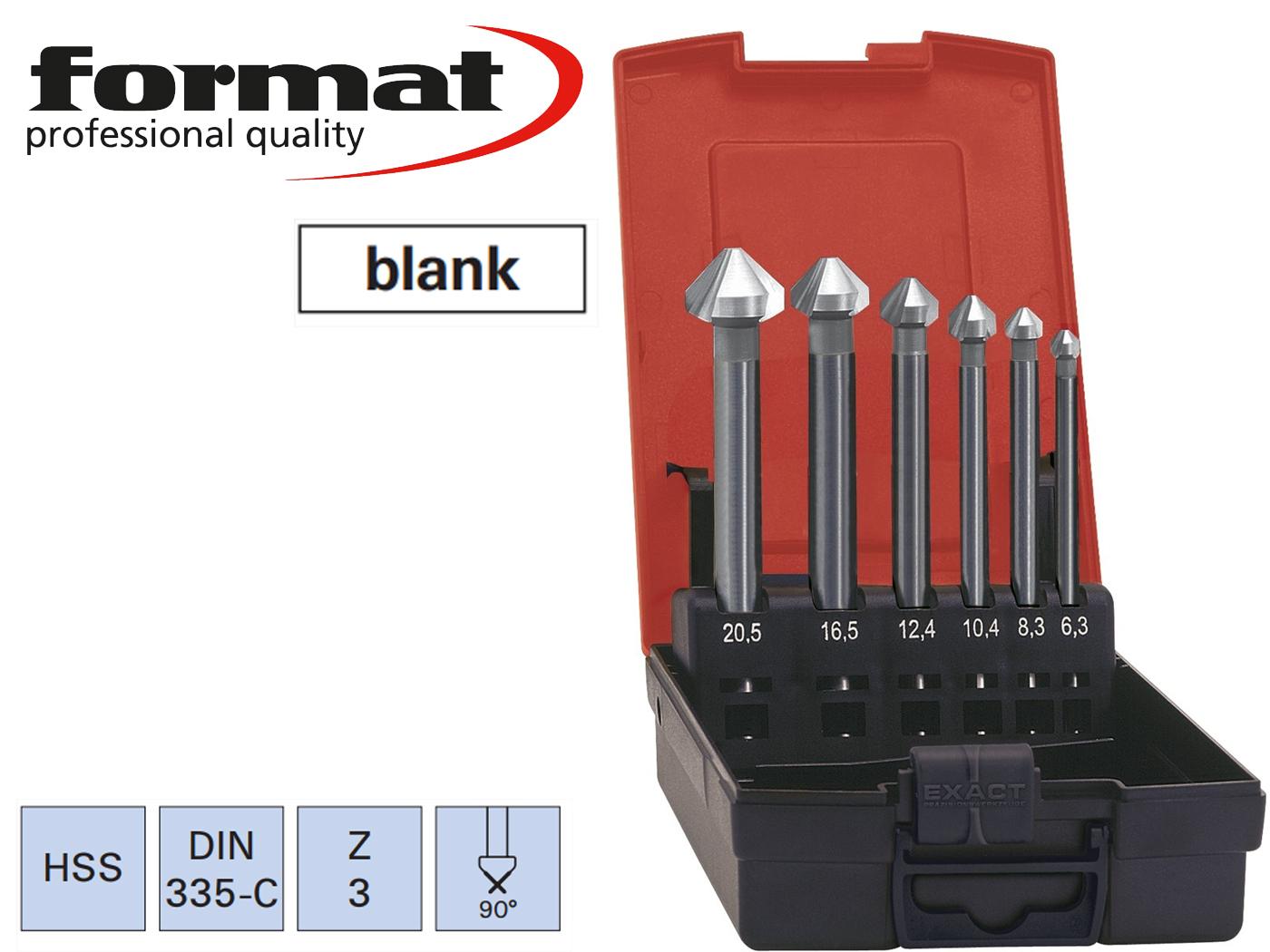 verzinkboor set extra Lang DIN 335 C 90G FORMAT   DKMTools - DKM Tools
