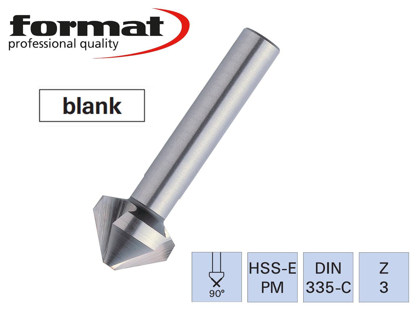 verzinkboor DIN 335C HSSE PM 90G FORMAT | DKMTools - DKM Tools