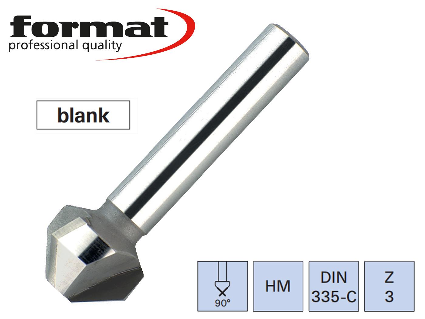 verzinkboor DIN 335C VHM 90G FORMAT   DKMTools - DKM Tools