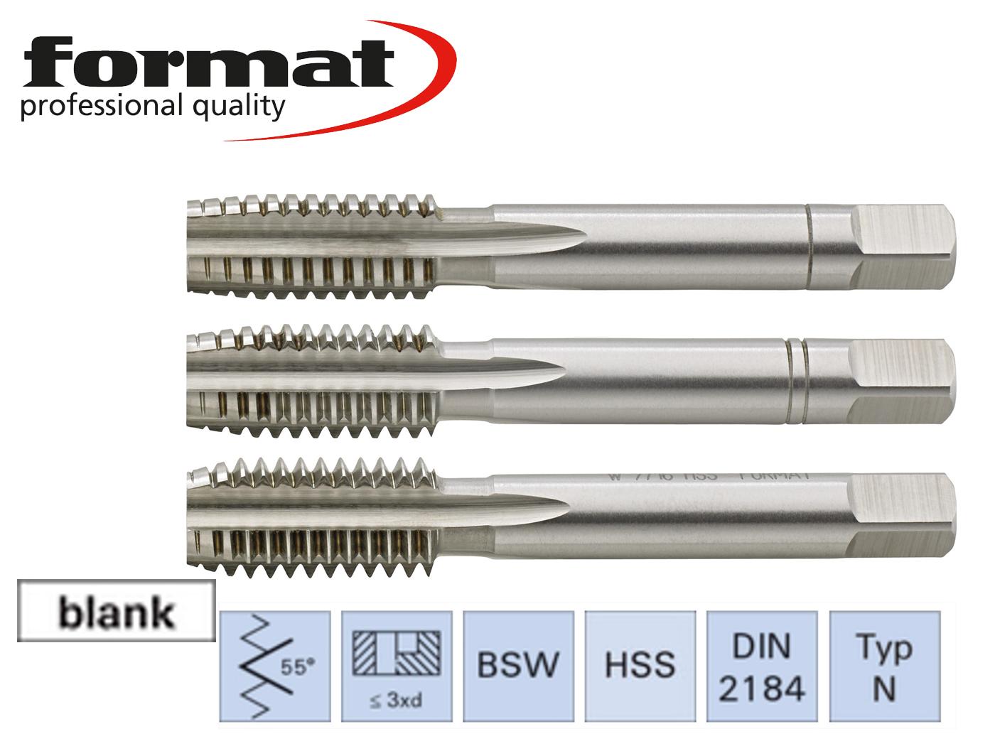 Handtappensets BSW DIN 352   DKMTools - DKM Tools