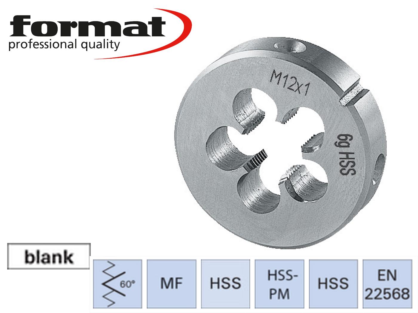 Ronde snijplaat MF DIN 22568 HSS geslepen | DKMTools - DKM Tools