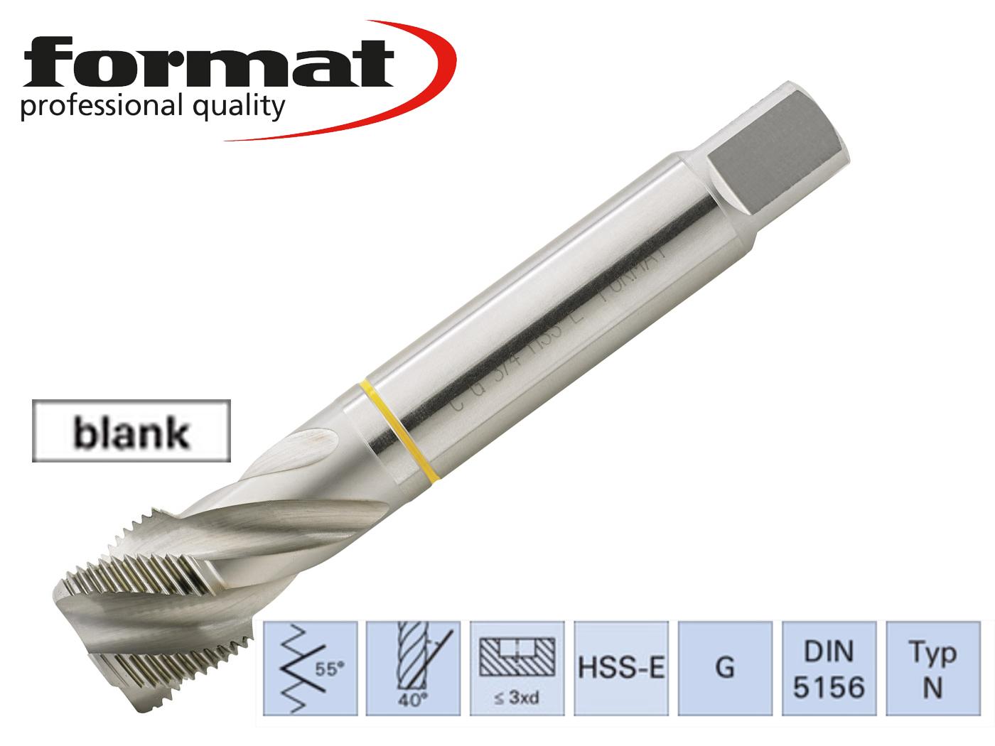 Machinetappen G DIN 5156. C HSSE Co 5 geslepen | DKMTools - DKM Tools