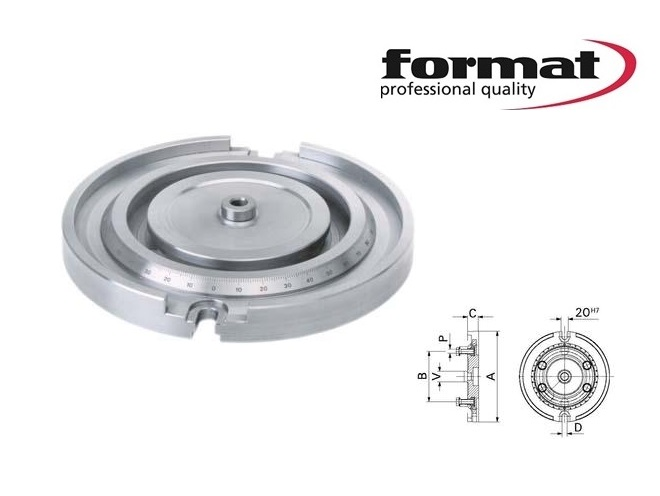 Format draaiplaat | DKMTools - DKM Tools