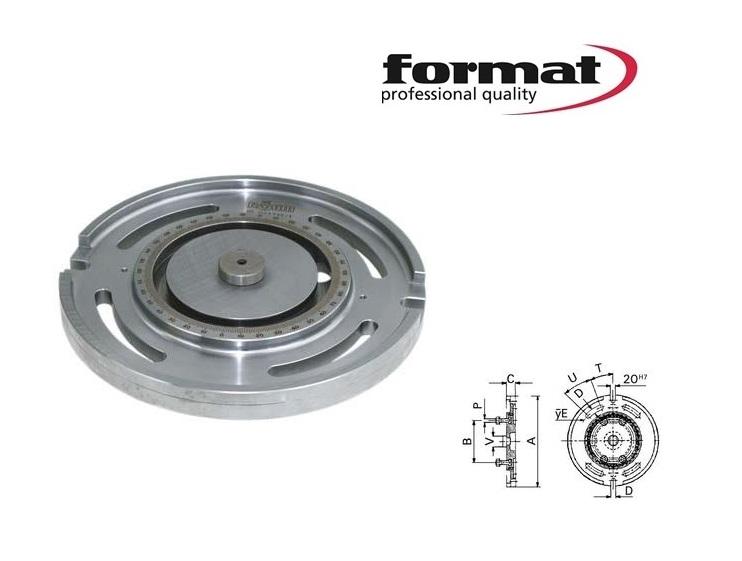 Format draaiplaat UZ | DKMTools - DKM Tools