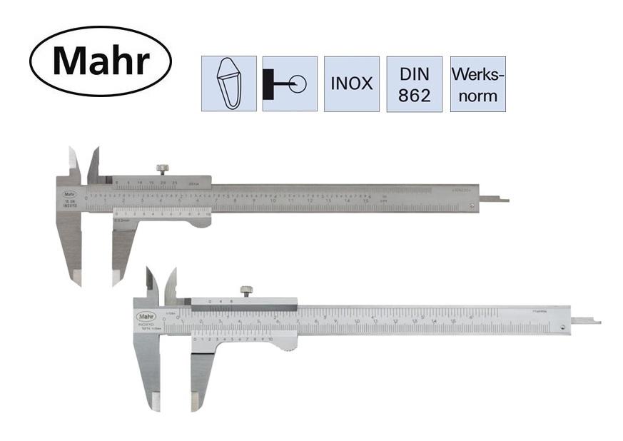 Mahr Zakschuifmaat DIN 862 | DKMTools - DKM Tools