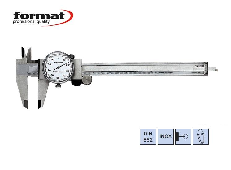 FORMAT Klokschuifmaat DIN 862 | DKMTools - DKM Tools