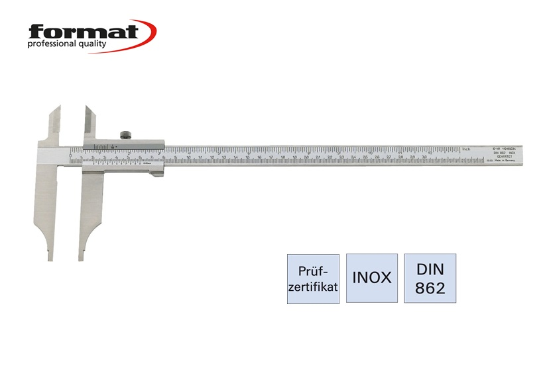 FORMAT Werkplaatsschuifmaat DIN 862 | DKMTools - DKM Tools