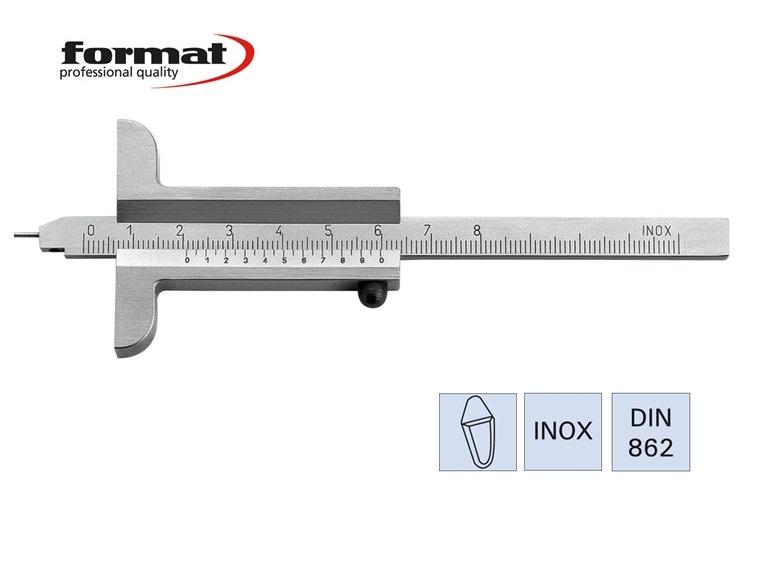 FORMAT Diepteschuifmaat met meetstift | DKMTools - DKM Tools