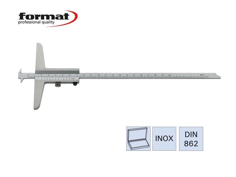 FORMAT Breedte- en afstands-diepteschuifmaat | DKMTools - DKM Tools