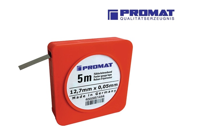 Precisie voelerband C Staal 5m   DKMTools - DKM Tools