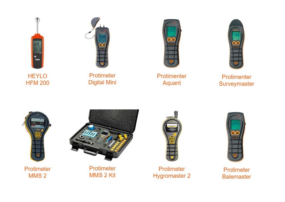Vochtmetingen | DKMTools - DKM Tools