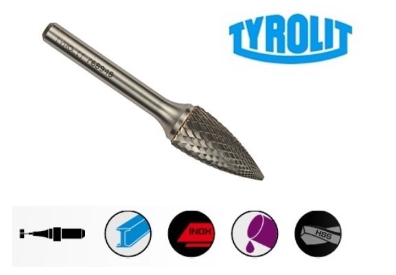 Stift frezen 52SPG Tyrolit | DKMTools - DKM Tools