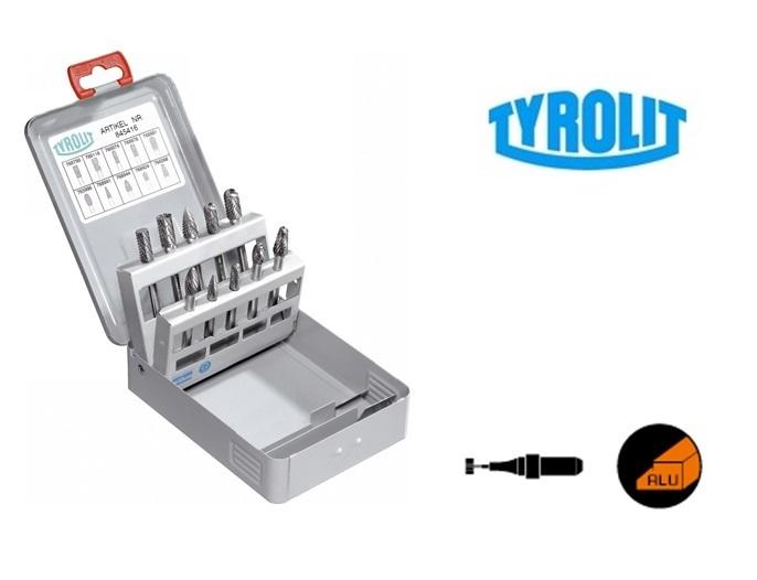 Hardmetaalfrezen Set ALU 5 stuk Tyrolit   DKMTools - DKM Tools