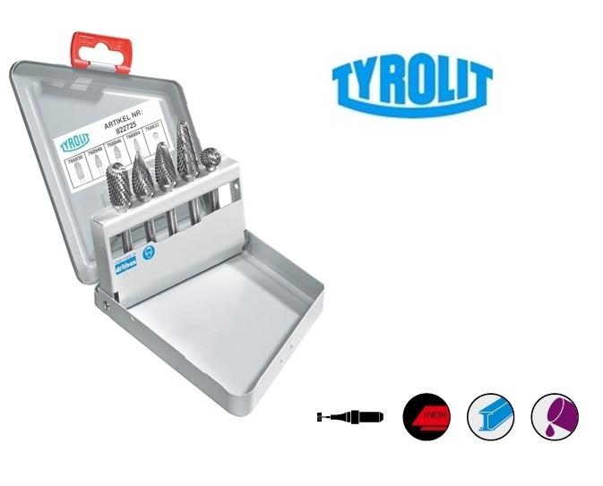 Hardmetaalfrezen Set 5 stuk Tyrolit | DKMTools - DKM Tools