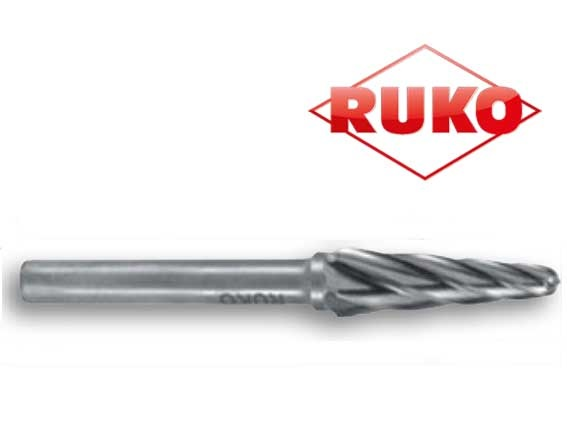 Freesstiften. vorm L ronde kegel TC ALU   DKMTools - DKM Tools