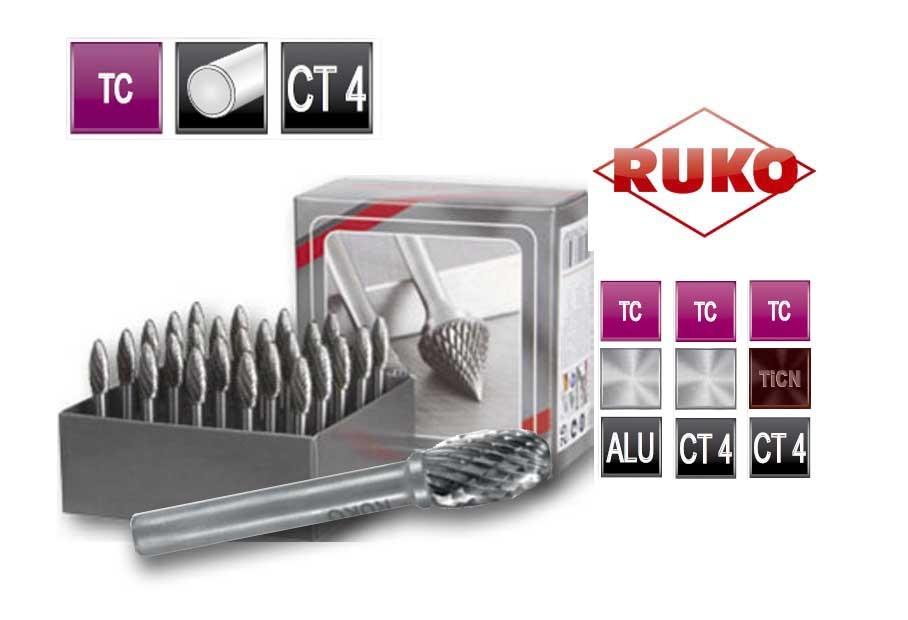 Freesstiftenset. vorm E druppel TC CT 4   DKMTools - DKM Tools