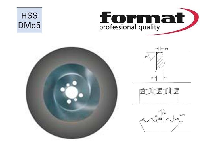 FORMAT Metaalcirkelzaagblad HSS Basetech | DKMTools - DKM Tools