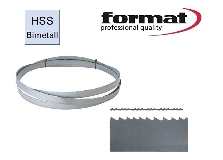 FORMAT Lintzaag type HSS-bimetaal | DKMTools - DKM Tools