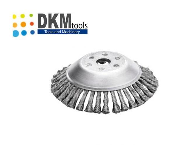 Onkruidborstel 200 mm x 25.4 mm   DKMTools - DKM Tools