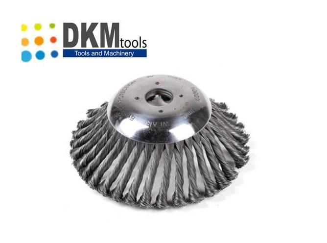 Onkruidborstel 170 mm x 25.4 mm   DKMTools - DKM Tools