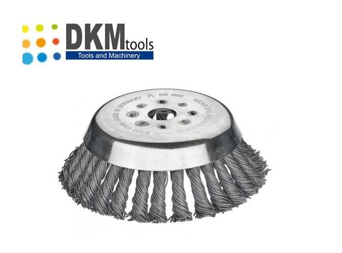 Onkruidborstel 180 x 0.50 x 25.4 mm   DKMTools - DKM Tools