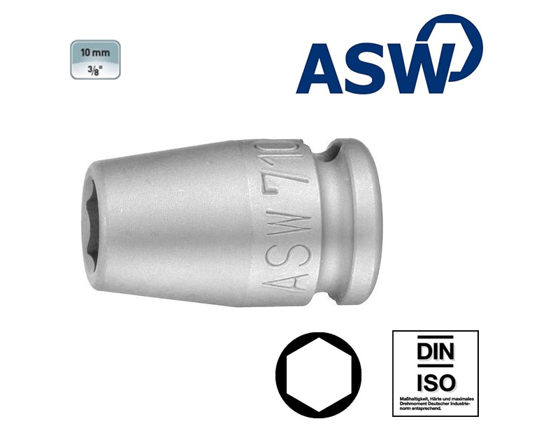 ASW Krachtdopsleutel 10.0 mm | DKMTools - DKM Tools