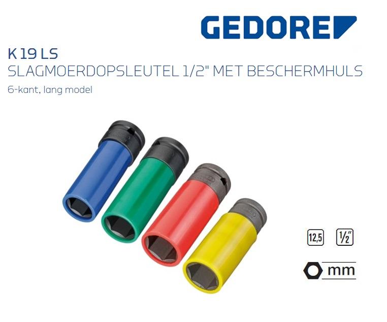 Gedore K 19 LS Slagmoerdopsleutel 12,5 mm | DKMTools - DKM Tools