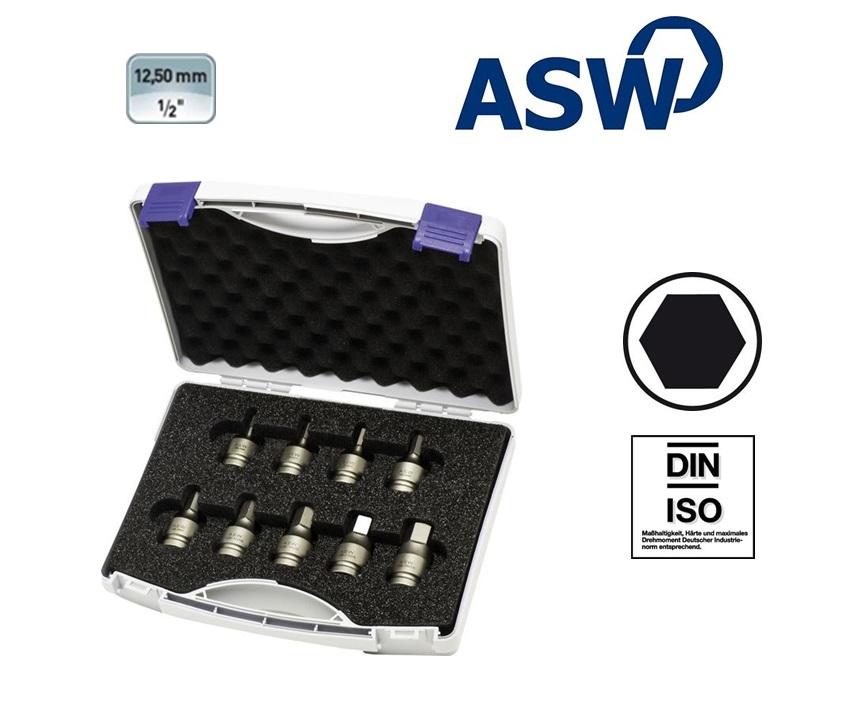 ASW Kracht-schroefbitset 12,5 mm | DKMTools - DKM Tools