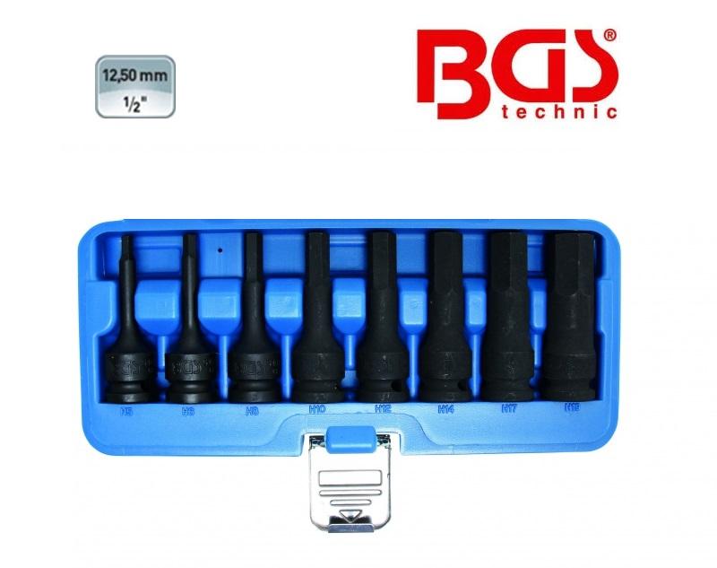 BGS Kracht bitset inbus 8 delig | DKMTools - DKM Tools