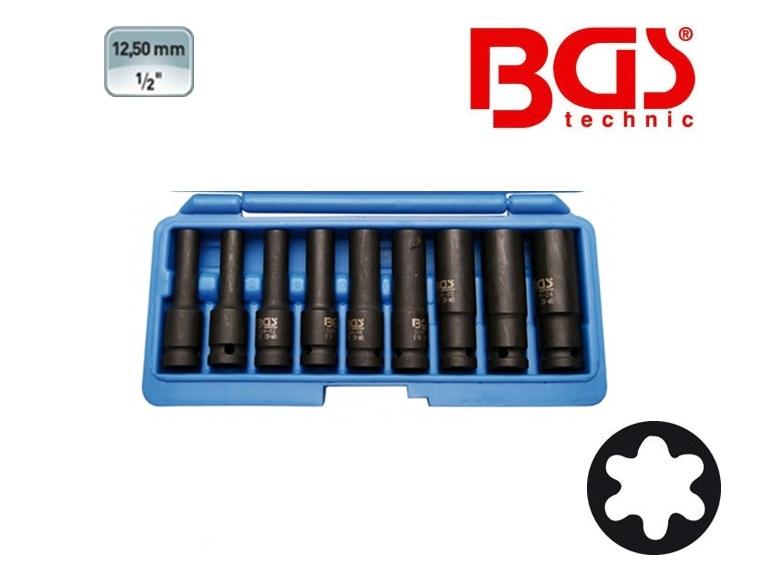 BGS Krachtdopsleutel set TORX E | DKMTools - DKM Tools
