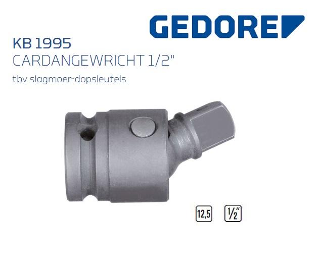 Gedore KB 1995 Cardangewricht 12,5 mm | DKMTools - DKM Tools