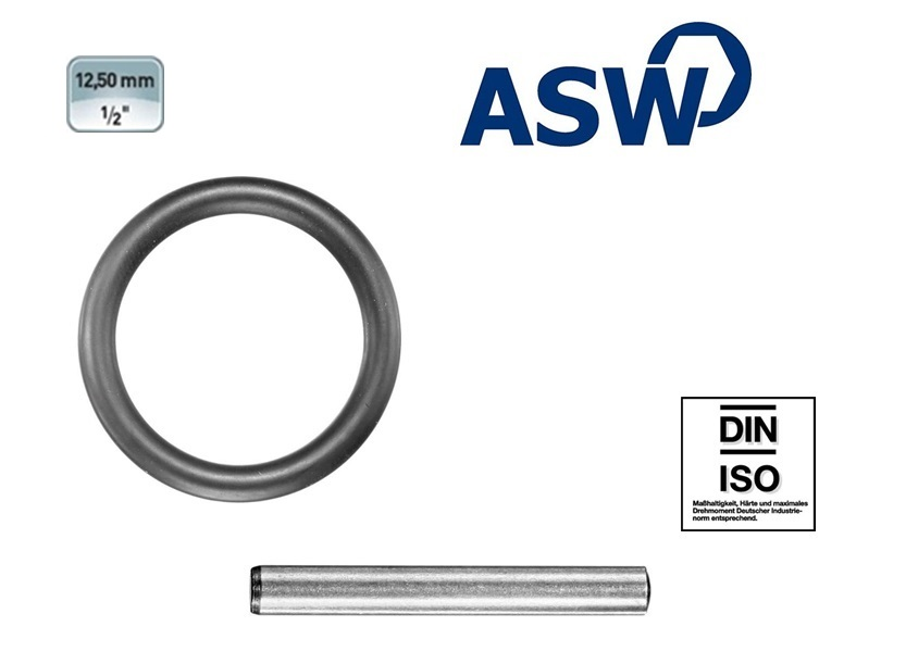 ASW Rubberring-Borgpen 12.5 mm | DKMTools - DKM Tools