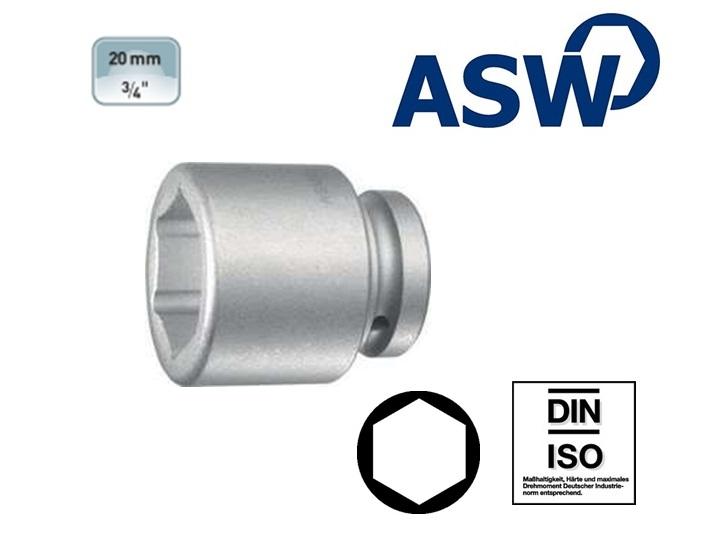 ASW Krachtdopsleutel 19.0mm | DKMTools - DKM Tools