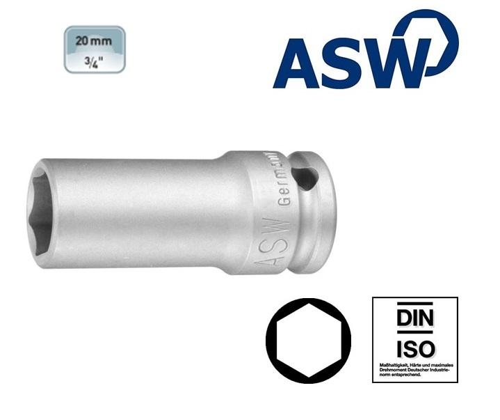 ASW Krachtdop 19.0 mm Lang | DKMTools - DKM Tools