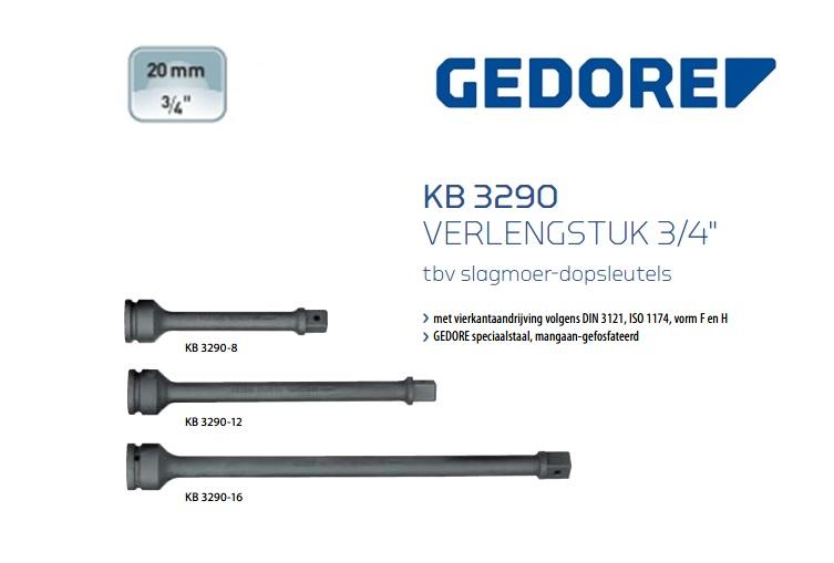 Gedore KB 3290 Verlengstuk | DKMTools - DKM Tools
