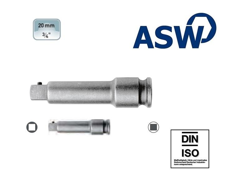 ASW Krachtverlengstuk 19.0 mm | DKMTools - DKM Tools