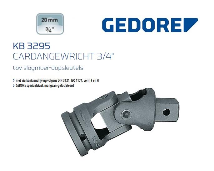 Gedore KB 3221 Cardangewricht 19.0 mm | DKMTools - DKM Tools