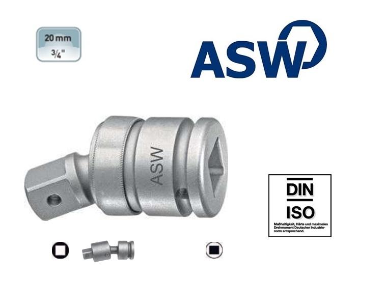ASW Krachtkogelkoppeling 19.0 mm | DKMTools - DKM Tools