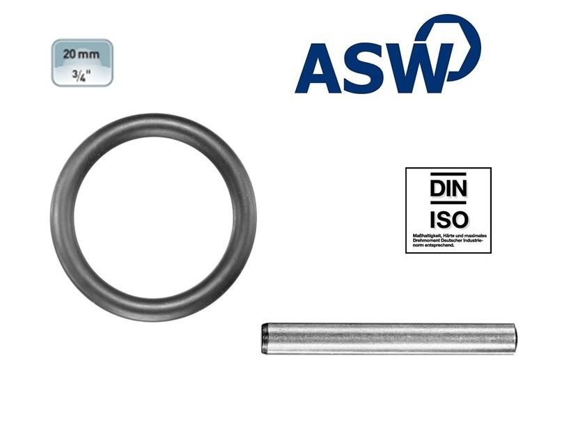 ASW Rubberring-Borgpen 19.0 mm | DKMTools - DKM Tools