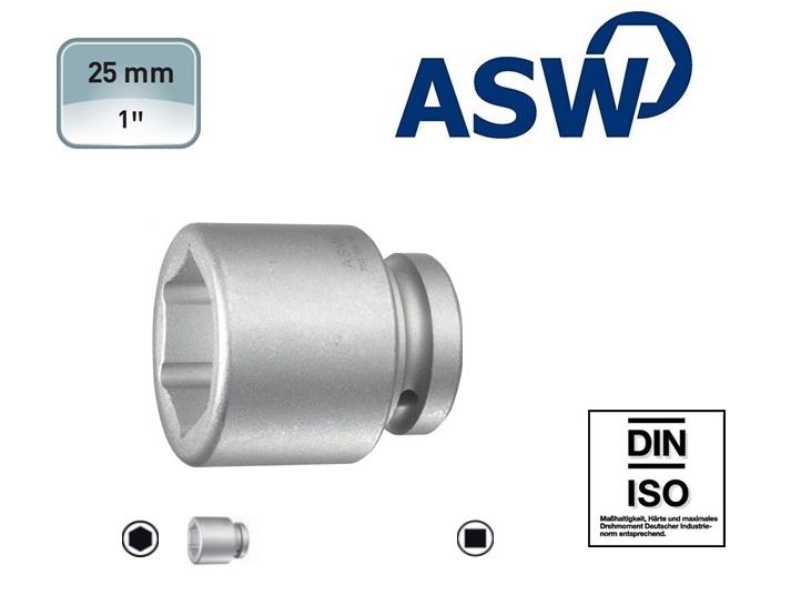 ASW Krachtdopsleutel 6-kant 25 mm | DKMTools - DKM Tools