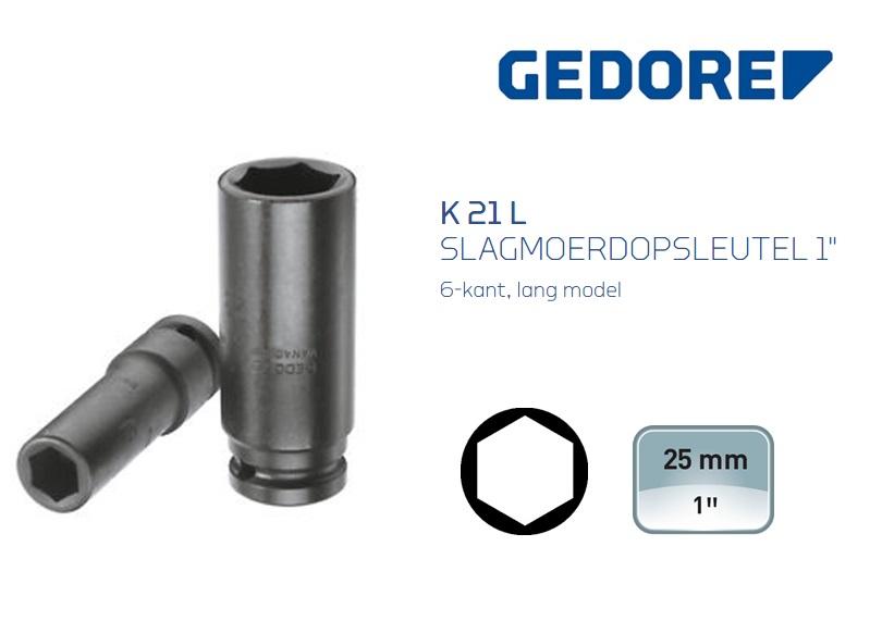 Gedore K 21 L Slagmoerdopsleutel 6-kant Lang | DKMTools - DKM Tools