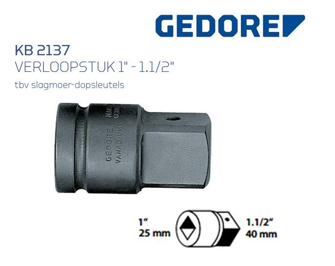 Gedore KB 2137 Verloopstuk | DKMTools - DKM Tools