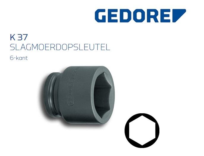 Gedore K 37 Slagmoerdopsleutel 40.0mm | DKMTools - DKM Tools