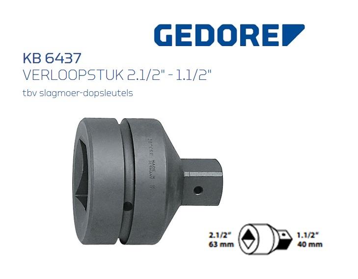 Gedore KB 6437 Verloopstuk | DKMTools - DKM Tools