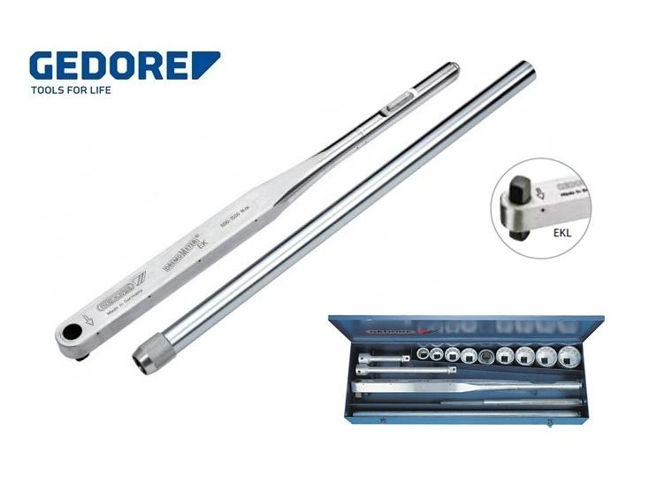 Gedore 8586.Momentsleutel DREMOMETER 600 1500 EKL | DKMTools - DKM Tools