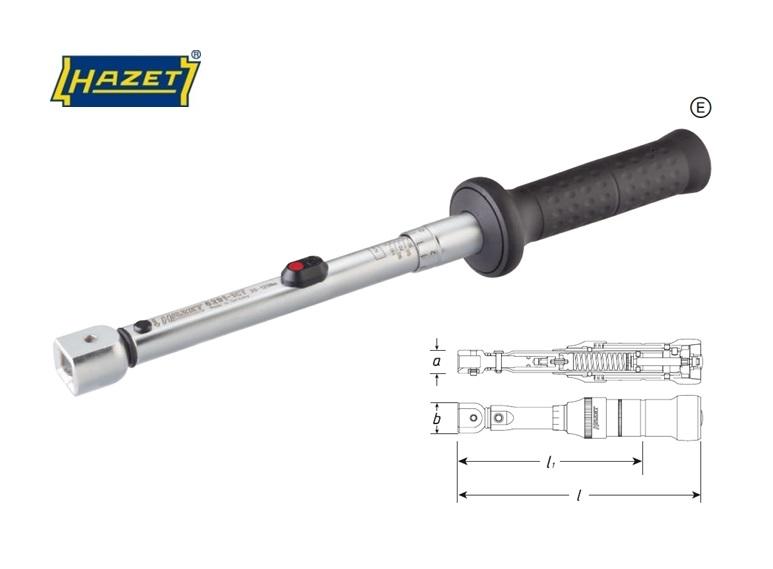Hazet 6200 1 CT.Draaimomentsleutel 2pr | DKMTools - DKM Tools